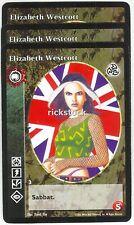 Elizabeth Westcott x3 Tzimisce 3rd Ed VTES Jyhad