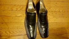 STACY ADAMS SIGNATURE MEN SHOES SIZE 10 PRE-OWNED  MADE IN ITALY