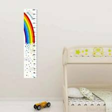 Childrens Measuring Height Growth Chart Wall Sticker Bedroom Decor Peel & Stick