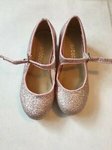 GIRLS GLITTER shoes with heel size 11