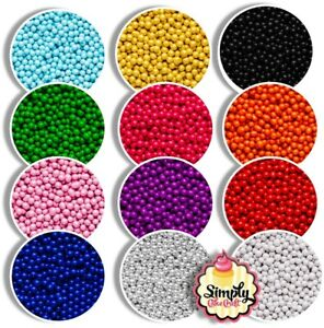 Cake Decoration Chocolate Balls 6mm Sprinkles Tasty Colourful Cupcake Toppings