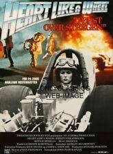 Heart Like a Wheel NHRA Drag Racing Shirley Muldowney Woman Racer Danish Poster