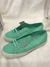 Superga pastel green Canvas Sneakers US w10 (tv2)