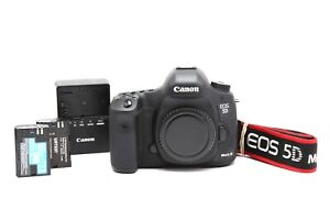 Canon EOS 5D Mark III DSLR Camera Body with 2 Batteries #33323