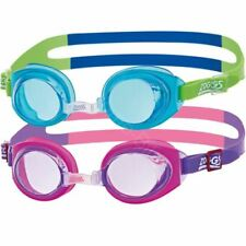 c4a9fb8d8a9 Zoggs Little Ripper Kids Swimming Goggles Childrens UV Protection Age 0-6