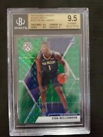 2019-20 Panini Green Mosaic #209 Zion Williamson Pelicans RC Rookie BGS 9.5 GEM