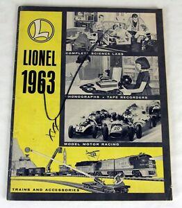 Original Lionel 1963 Advance Catalog