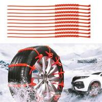 Anti Skid Chains for Automobiles Snow Mud Wheel Tyre Car/Truck Tire Cable Ties