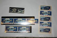 Mixed Lot US Vintage Good Unused Blocks Postage Stamps Outer Space Apollo Soyuz