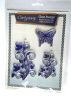 Claritystamps Leafy Swirl Clear Stamp Set