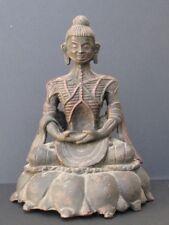 Rare Buddha Ascète Bronze of Nepal