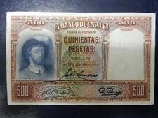 EBC - SIN SERIE - BILLETE DE 500 PESETAS DE 1931 - ELCANO