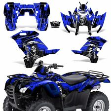 Graphic Kit Honda Rancher 420 ATV Quad Decals Sticker Wrap Parts 07-13 REAP BLUE