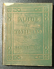 Little Leather Library ALICE IN WONDERLAND by Lewis Carroll    Rare Book