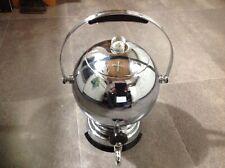 Mid Century Old Atomic Art Deco Chrome Bakelite Manning Bowman Coffee Percolator