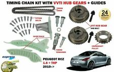 FOR PEUGEOT RCZ 1.6 + THP 270 200bhp BHP 2010--> TIMING CHAIN KIT + VVT HUB GEAR