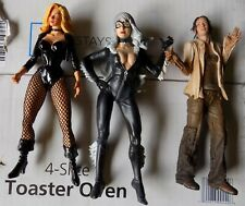 LOT OF THREE FEMALE ACTION FIGURES LOOSE