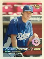 CLAYTON KERSHAW Rookie Card - 2008 Stadium Club Photo Variation 1st Day /599