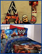"Wwe 9"" Childrens Wooden Letters Decor Can do any Theme"