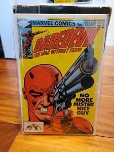 Daredevil 184 / Marvel Comics Bronze Age 1982 / Frank Miller classic cover