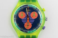 SWATCH original Swiss made CHRONO SCJ100 quartz watch New old stock