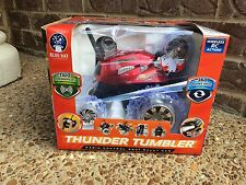 NEW Thunder Tumbler Radio Control 360* Degree Rally Car Red RC REMOTE CONTROL