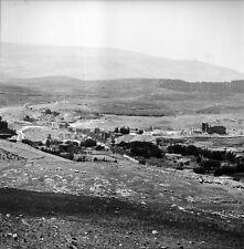 JERASH c. 1960 - Panorama Vue sur la Ville Jordanie - Négatif 6 x 6 - JOR 18