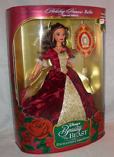 New Disney Enchanted Christmas Holiday Princess Belle 2nd in Series