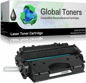 Global Toners Compatible Laser Toner Cartridge for HP & LaserJet Pro (Black)