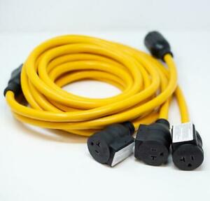 Firman 25ft Power Cord tt-30p 30amp To 5-20rx3 1101