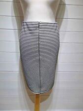 BNWT Papaya Skirt ~ Size 16 ~ Black White ~ Straight Line ~ Casual Party