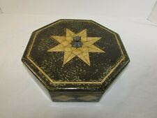 """Vintage Maitland Smith Shagreen Style Lacquered Box 11"""""""