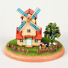 YM982 Diorama Mini House Series - Windmill Wooden Model Kit
