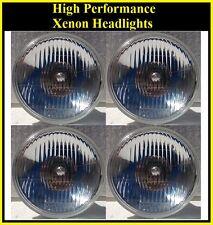 "Xenon H4 5 3/4"" Headlights 4 Head Lamp Light System Conversion Cadillac & Mopar"