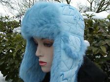 Señora gorro tschapka de mcburn conejos talla 54 invierno, viento, cálido fell gorra
