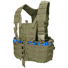 CONDOR MOLLE Modular Nylon Chest Set Vest Rig cs-001 OLIVE DRAB OD GREEN