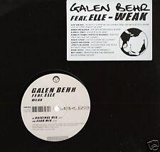 "Galen Behr feat. Elle  ""Weak"" * YAK018 / Original + Club Mixes"