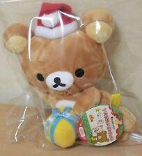 New F/S Rilakkuma Christmas Xmas Plush Doll Toy Mascot San-X Japan Kawaii Cute