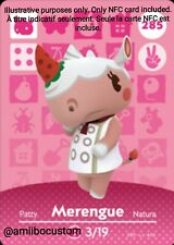 Merengue/Patty - Animal Crossing New Horizons - Carte amiibo NFC Custom
