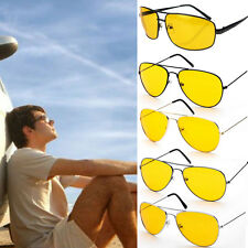 Night Vision Polarized Yellow Lens Sunglasses Driving UV 400 Eyewear Glasses
