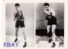 Treat Williams barechested, Jack Dempsey VINTAGE Photo Dempsey 2 images on 1 pho