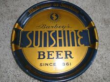 Sunshine beer tough Pa beer sign tray