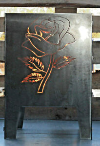 Feuerkorb Rose 400 x 400 Serie Coybo Feuerschale Gartenfeuer Feuerstelle