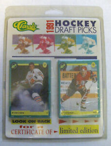 1991 CLASSIC HOCKEY DRAFT PICKS  (#1-50) U-PICK FROM LIST