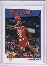 1991-92 NBA Hoops Michael Jordan Slam Dunk Champion IV Free Shipping