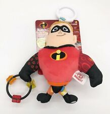 Lamaze Disney Incredibles 2 Clip And Go Mr. Incredible Doll / Teether / Rattle
