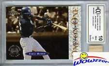 1995 UD Minors One on One #8 Michael Jordan w/Game Used Bat BECKETT 10 MINT GGUM