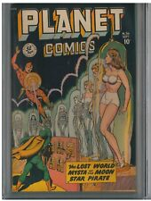 Planet Comics (1940 Fiction House) #56 FN+, classic cover, CGC graded