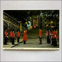 The Ceremony of the Keys Tower of London Postcard (P413)