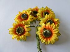 6 Small Sunflowers